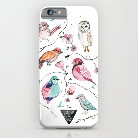 BIRDS OF THE WILD iPhone & iPod Case