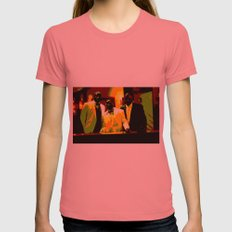 Cotton Club Legends Womens Fitted Tee Pomegranate SMALL