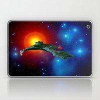 Klingon Vor'cha-class  attack cruiser Laptop & iPad Skin