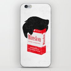 Smoker's Face iPhone & iPod Skin