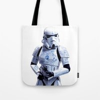 Tattooed Trooper Tote Bag