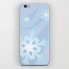 Winter Flakes iPhone & iPod Skin