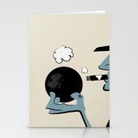 Bowling And Cigars At Th… Stationery Cards