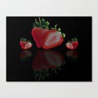 Strawberry's Canvas Print