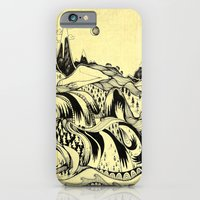 iPhone & iPod Case featuring Sleeping Mountains by emily sams