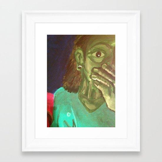 NightHawks Framed Art Print