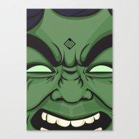 Hulk Canvas Print