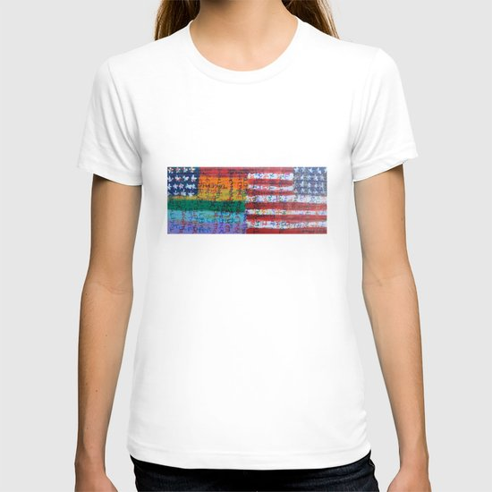 Flags for The Future 28 T-shirt