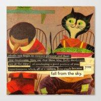 Skyfall Canvas Print