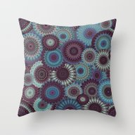 Mandala 152 (Floral) Throw Pillow