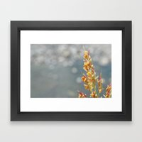 September Framed Art Print