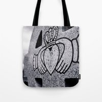 Claddagh closeup Tote Bag