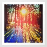 Take The Prismatic Path (002) Art Print