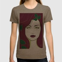 Nagel Style Poison Ivy Womens Fitted Tee Tri-Coffee SMALL