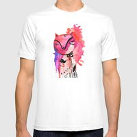 Magento Mens Fitted Tee White SMALL