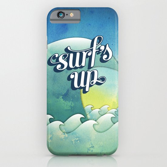 Surf's Up iPhone & iPod Case