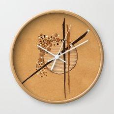 Sticks Wall Clock