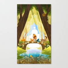 The Crossing - For An Afternoon Canvas Print