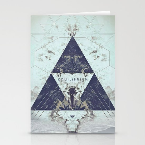 Equilibrium Stationery Card