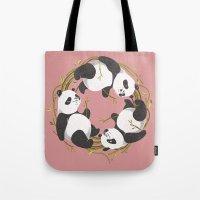 Panda dreams Tote Bag