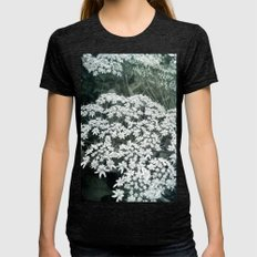 Lace Womens Fitted Tee Tri-Black SMALL