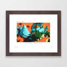 POP HELL #6 Framed Art Print