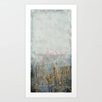 Hazy Horizon II Art Print