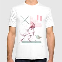 Classroom Girl Mens Fitted Tee White SMALL
