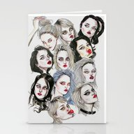 Sky Ferreira Collage Stationery Cards