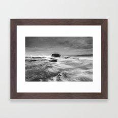 Stormy Seascape Framed Art Print