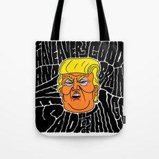 Trump's Good Brain Tote Bag