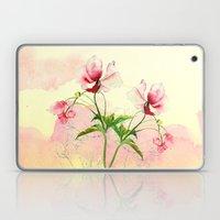 flower love Laptop & iPad Skin