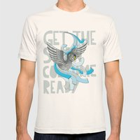 Get The Swan Costume Rea… Mens Fitted Tee Natural SMALL