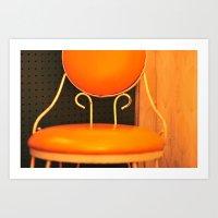 Lone Chair Art Print