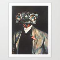 Johnny V, Esq. Art Print
