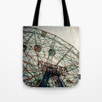 Coney Island Wonder Whee… Tote Bag