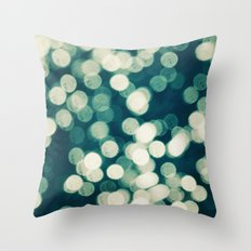 Under a Microscope Throw Pillow