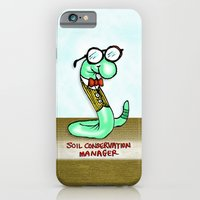 iPhone & iPod Case featuring Soil Conservation Manager by Peter Gross