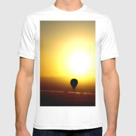 Chasing Ra Mens Fitted Tee White SMALL