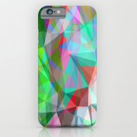 iPhone & iPod Case featuring Green Crystal Depth by Matthias Hennig