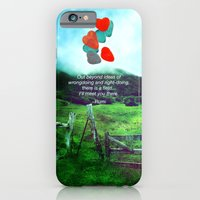 there is a field... I'll meet you there. iPhone 6 Slim Case