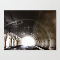 End of the Tunnel Canvas Print