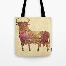 The vintage bull Tote Bag