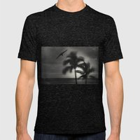 wild palmS Mens Fitted Tee Tri-Black SMALL