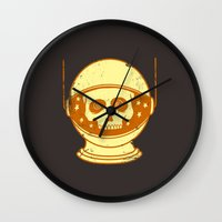 Intergalactic Cotton Bud… Wall Clock