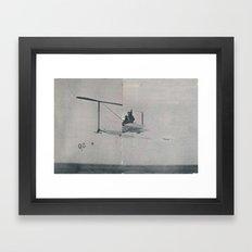 Future II Simple Framed Art Print