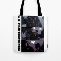The Hound of The Baskervilles Tote Bag