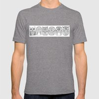 Six Pack (owl collective) Mens Fitted Tee Tri-Grey SMALL