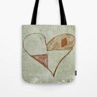 Broken Hearts Tote Bag