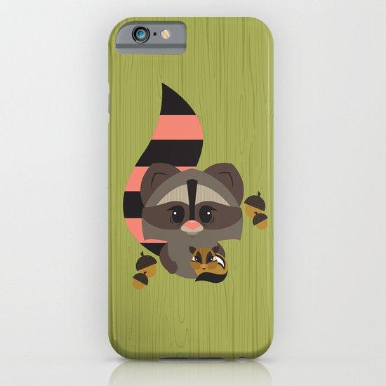Raccoon & Chipmunk iPhone & iPod Case